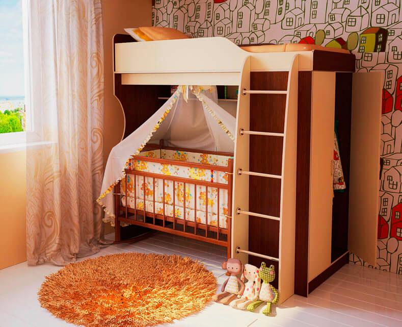 Двухъярусная кровать для детей (21)