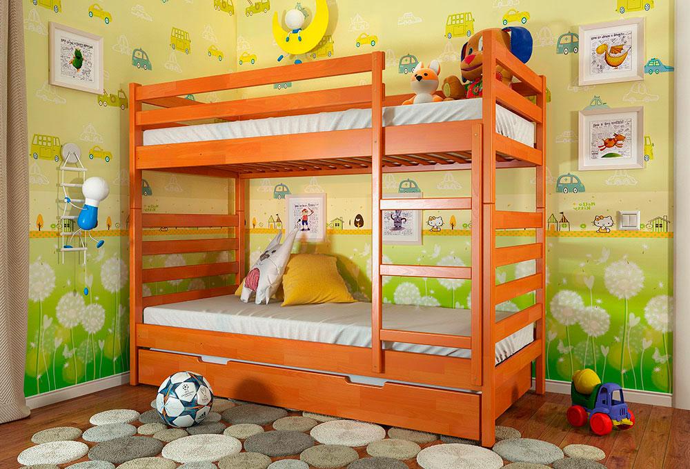 Двухъярусная кровать для детей (24)