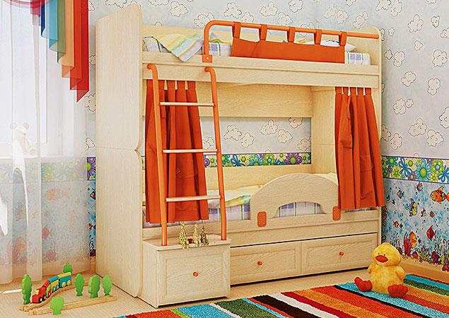 Двухъярусная кровать для детей (27)