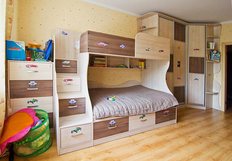 Двухъярусная кровать для детей (3)
