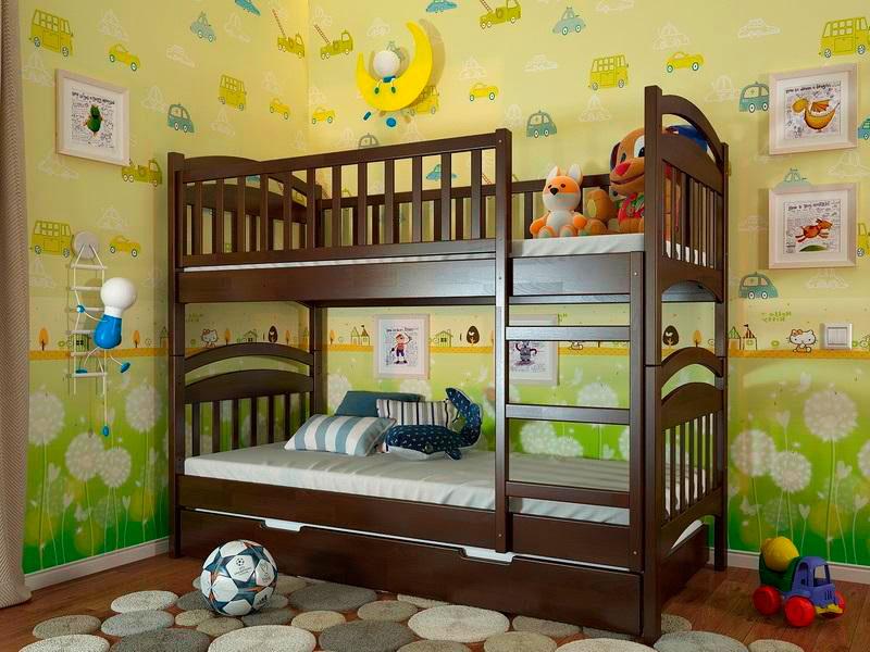 Двухъярусная кровать для детей (31)