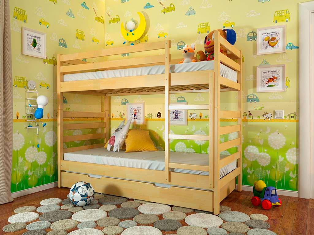 Двухъярусная кровать для детей (8)