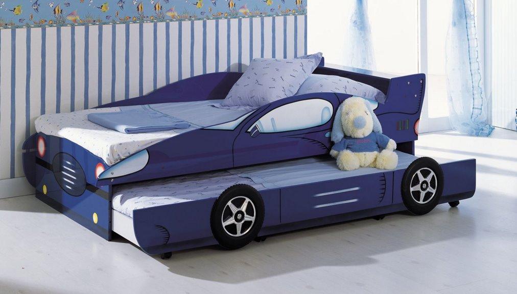 Диван-кровать машинка для мальчика