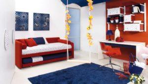 Фото детского дивана для сна в интерьере