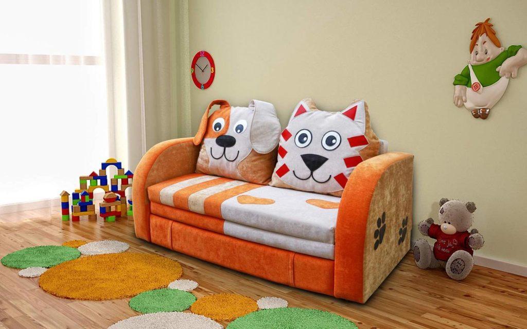 Фото детского диван-кровати в интерьере