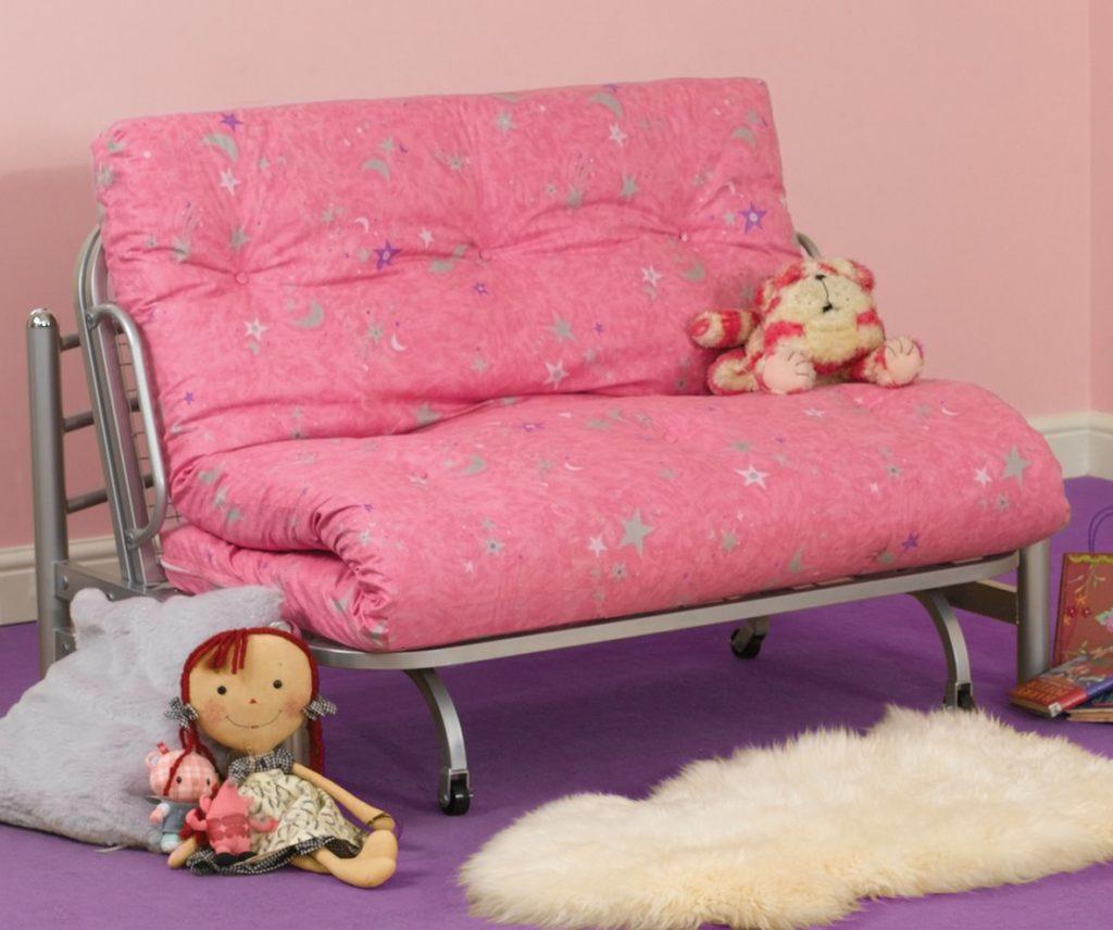 Раскладной детский диван с ортопедическим матрасом