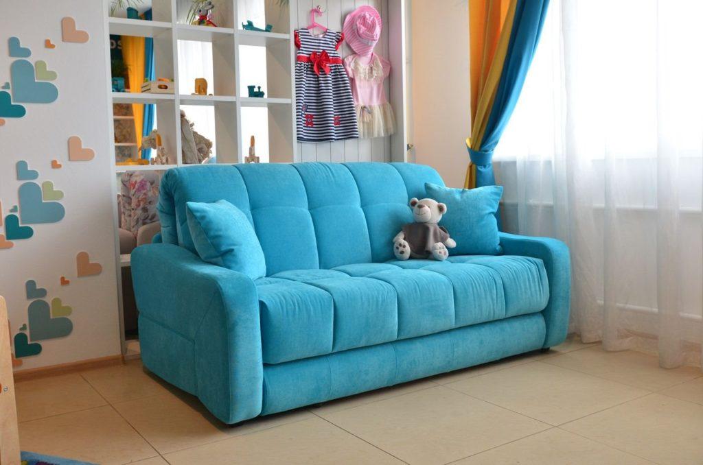 Ортопедический детский диван с механизмом Аккордеон