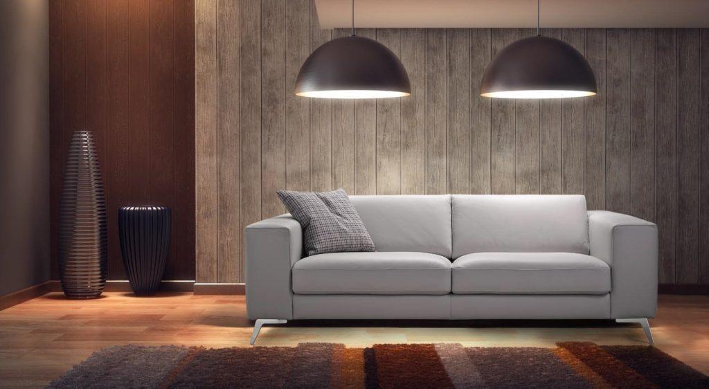 Красивое фото прямого дивана