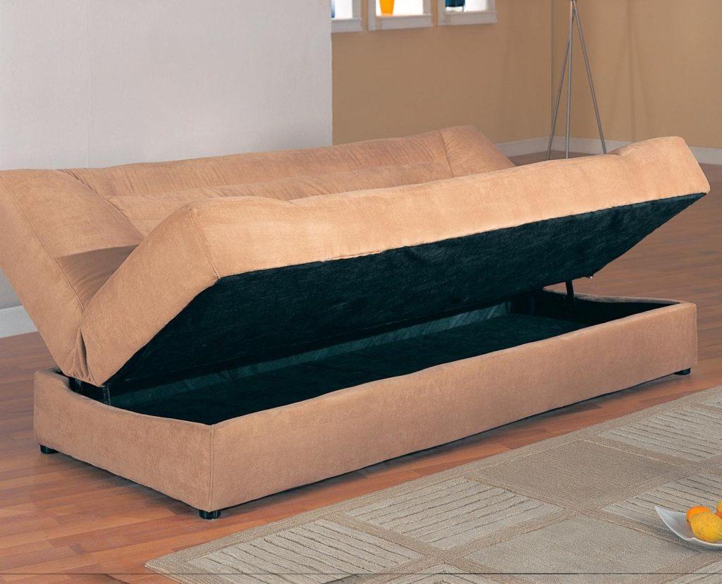 Раскладной диван-кровать с механизмом книжка