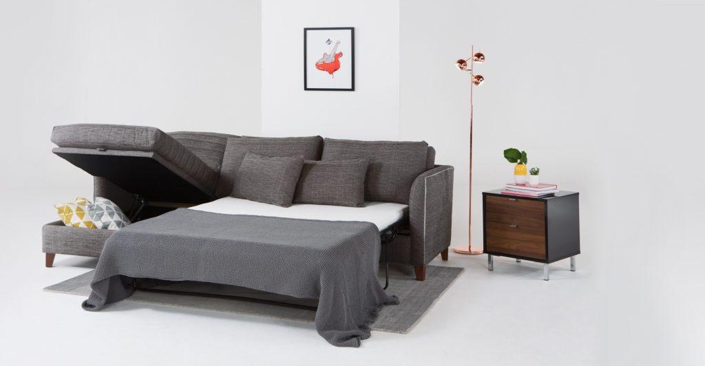 Диван-кровать с механизмом французская раскладушка