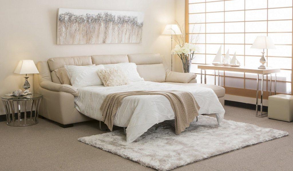 Фото дивана с большим спальным местом