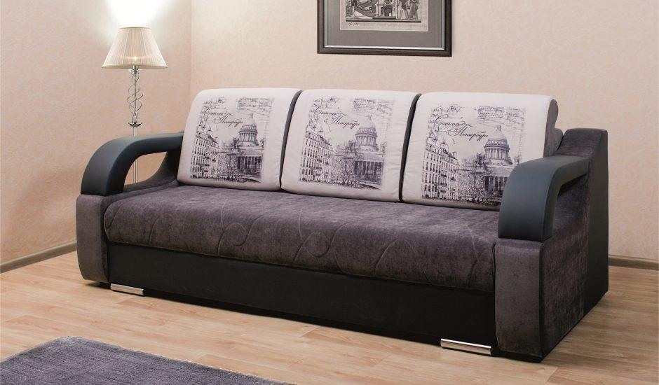 Прямой диван-кровать для сна