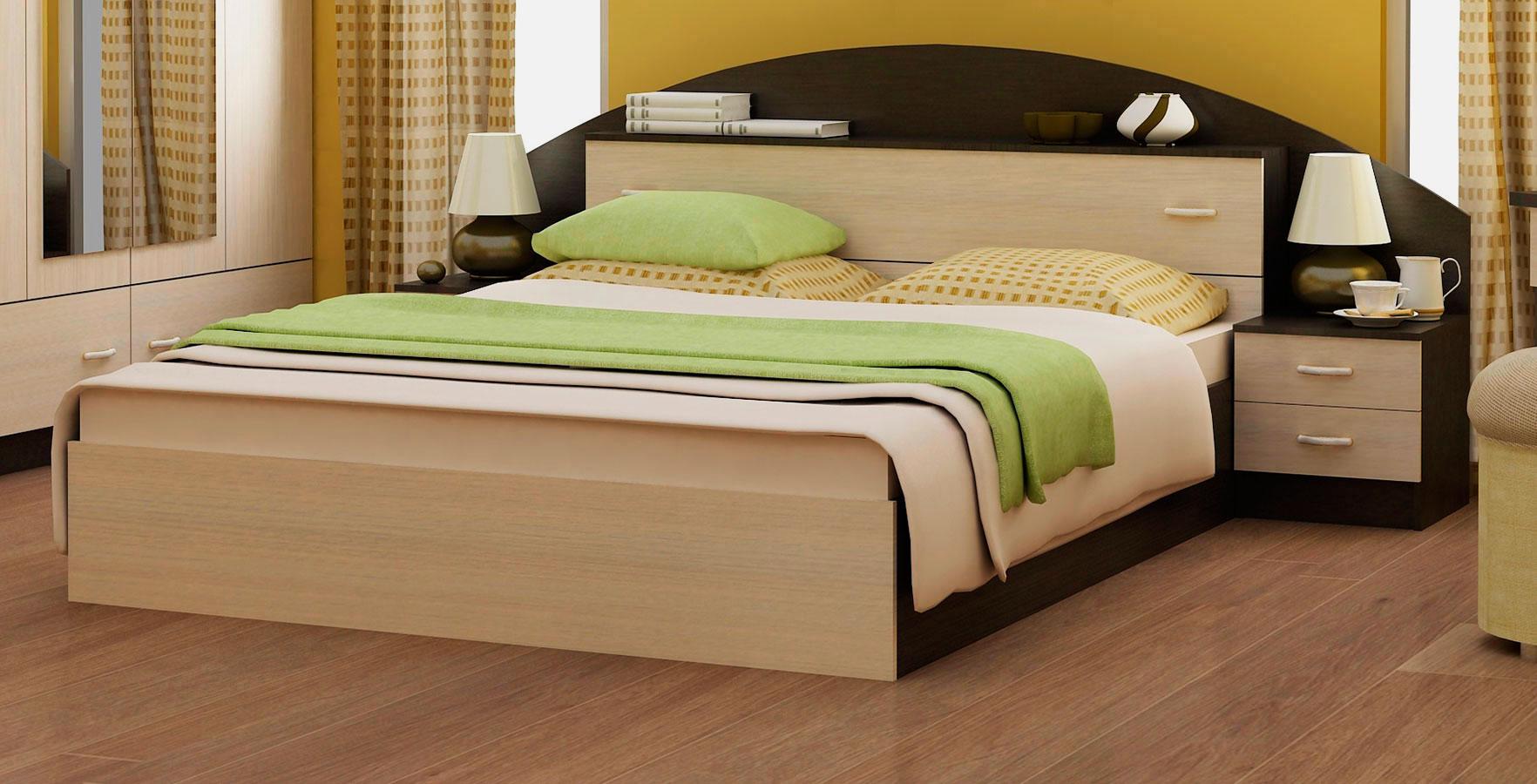 Кровать в спальной комнате (22)