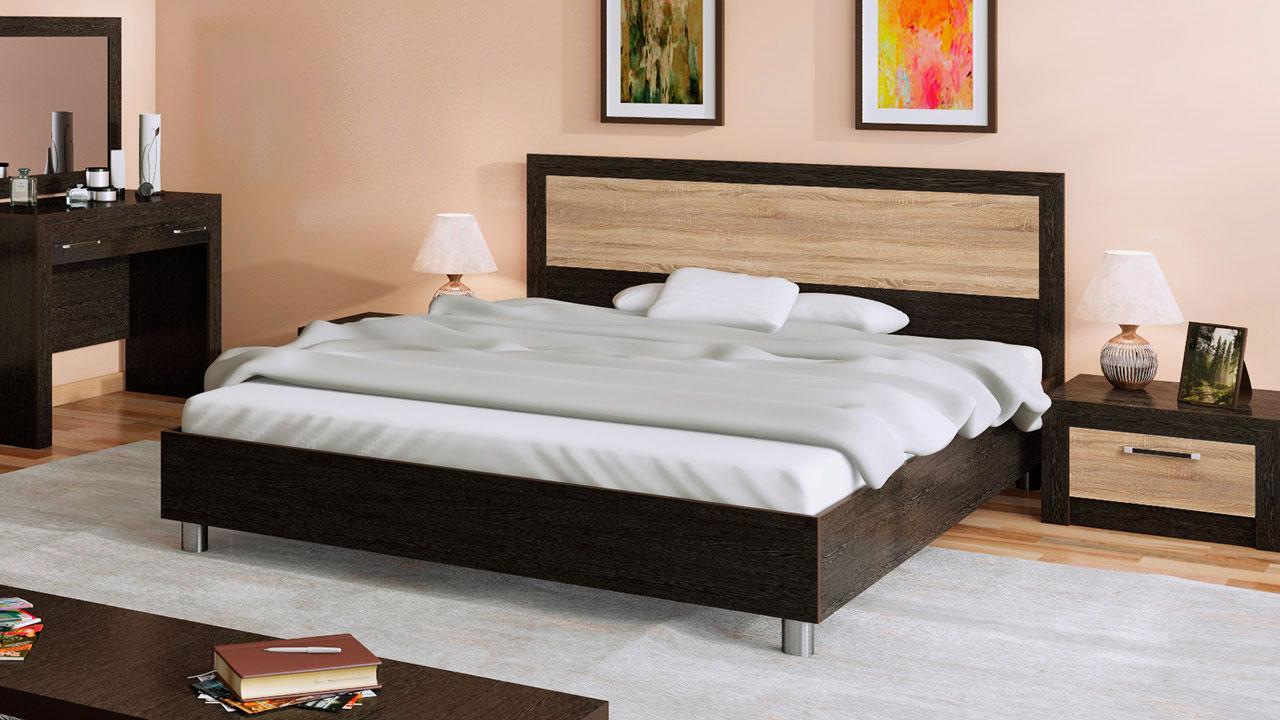 Кровать в спальной комнате (30)