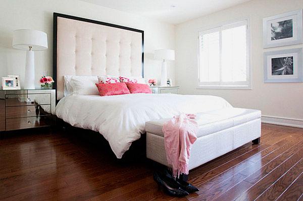 Кровать в спальной комнате (34)