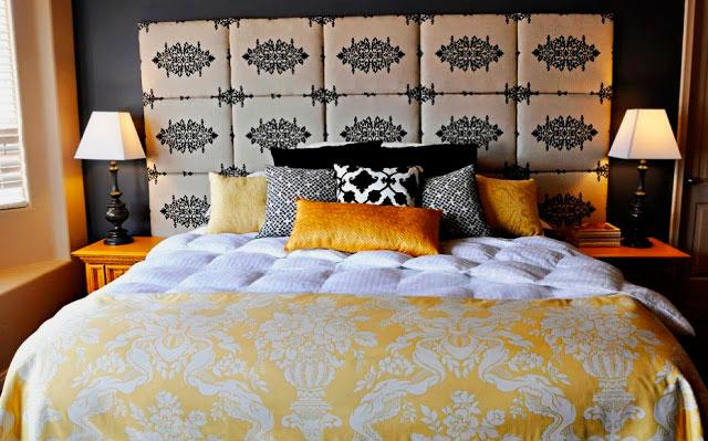 Кровать в спальной комнате (36)
