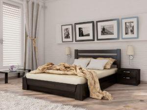 Фото кровати в интерьере комнаты