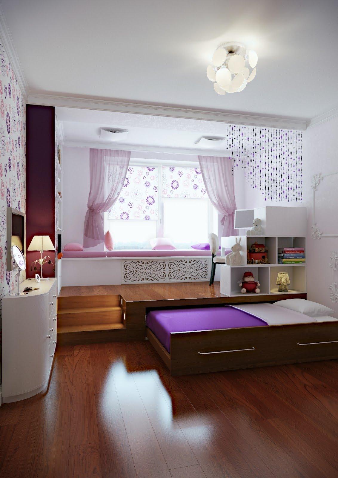 Кровать-подиум (17)