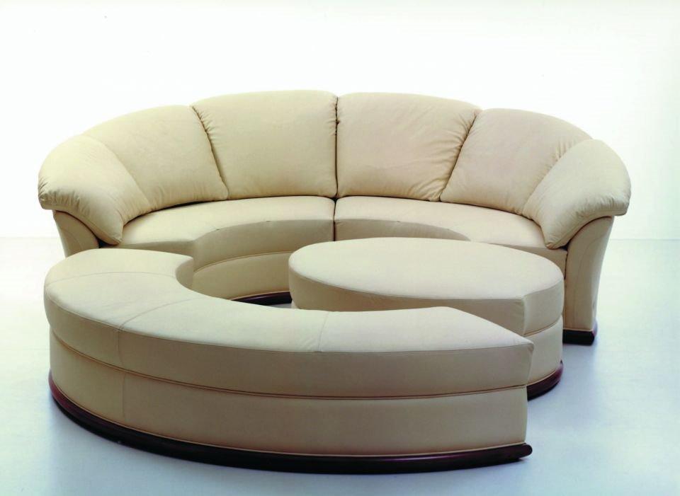 Круглый диван-кровать (1)