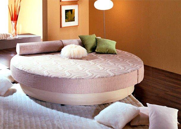 Круглый диван-кровать (13)