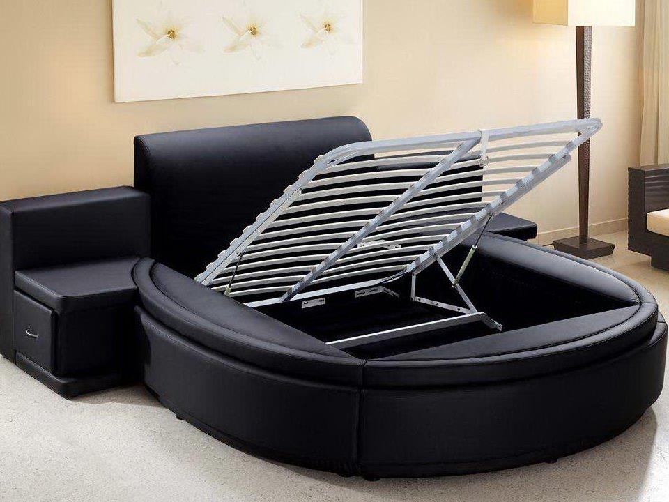 Круглый диван-кровать (15)