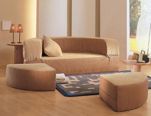 Круглый диван-кровать (16)