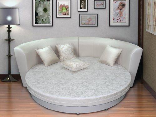 Круглый диван-кровать (17)
