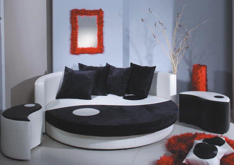 Круглый диван-кровать (19)