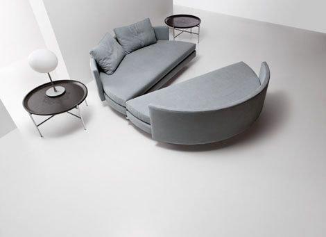 Круглый диван-кровать (20)