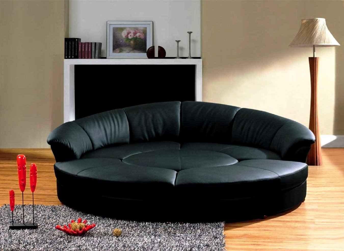 Круглый диван-кровать (25)