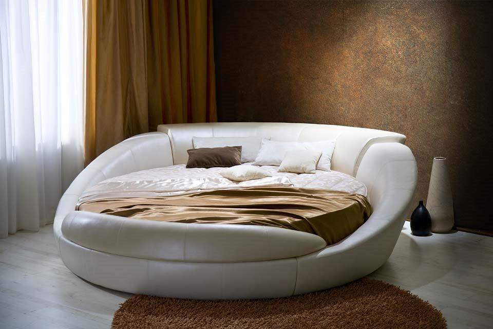 Круглый диван-кровать (3)