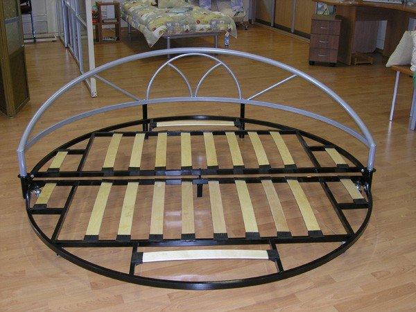 Фото каркаса круглого дивана для сна