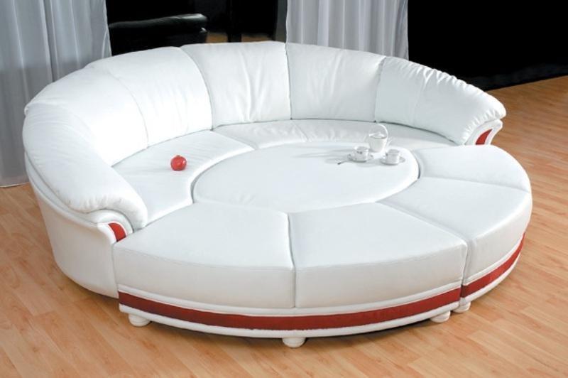 круглый диван кровать виды механизмы правила выбора