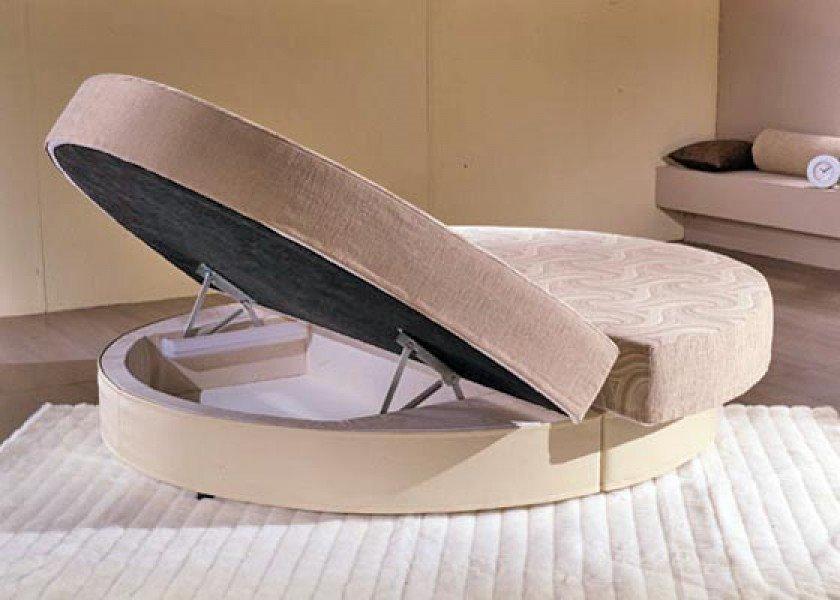 Круглый диван-кровать (8)