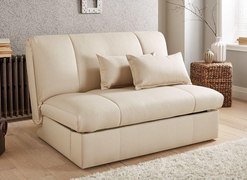 Трансформирующийся в кровать маленький диван