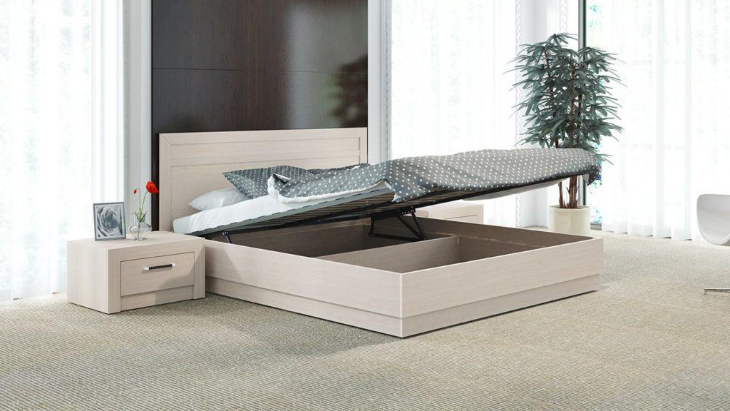 Фото кровати с подъёмным механизмом