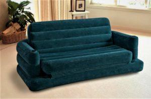Прямой раскладной надувной диван-кровать для сна