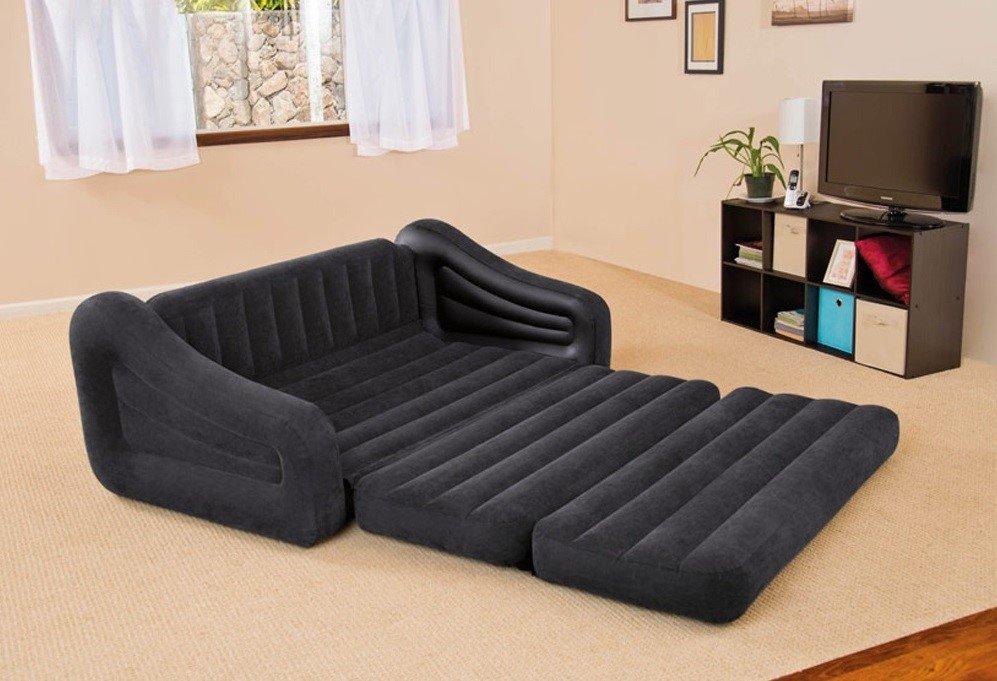 Надувной диван со спальным местом