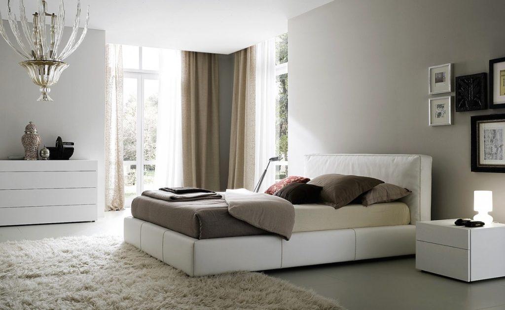Фото кровати с ортопедическим основанием в интерьере комнаты