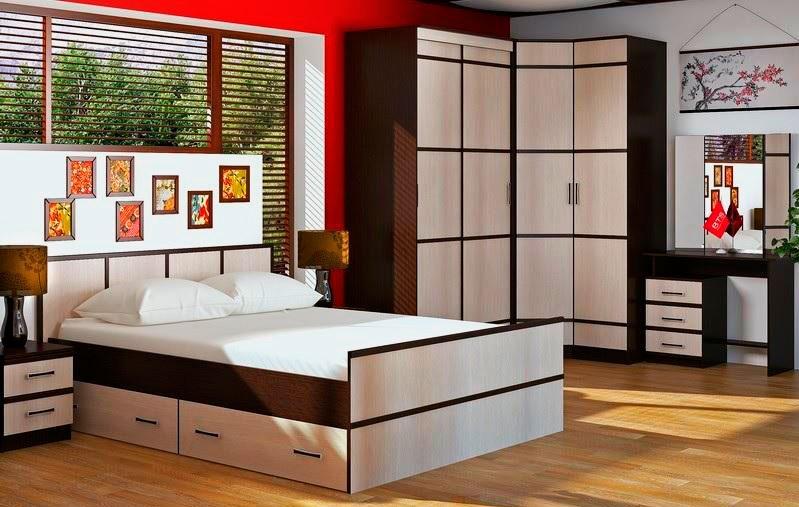 Практичная ортопедическая кровать с выдвижными ящиками