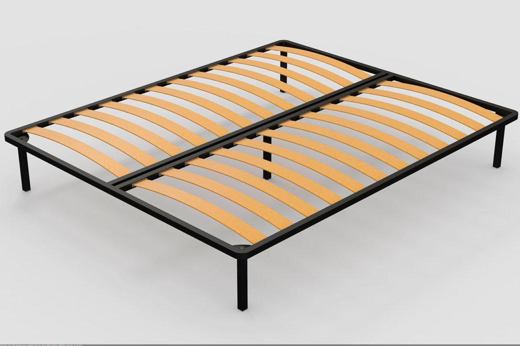 Фото двуспального съёмного ортопедического основания для кровати