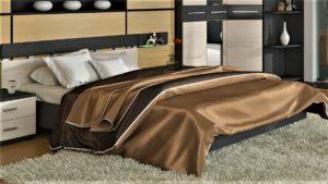 Фото кровати в интерьере спальной комнаты