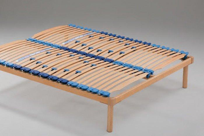 Фото деревянного ортопедического основания кровати с регулировкой жесткости