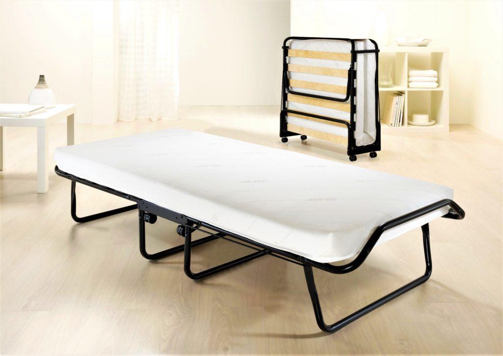 Раскладная кровать с ортопедическим основанием из ламелей