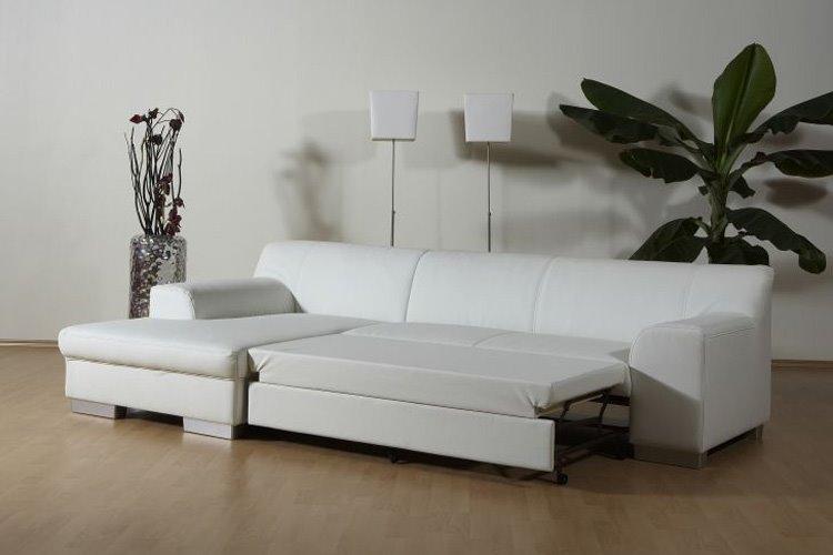 Угловой диван для сна с механизмом Дельфин