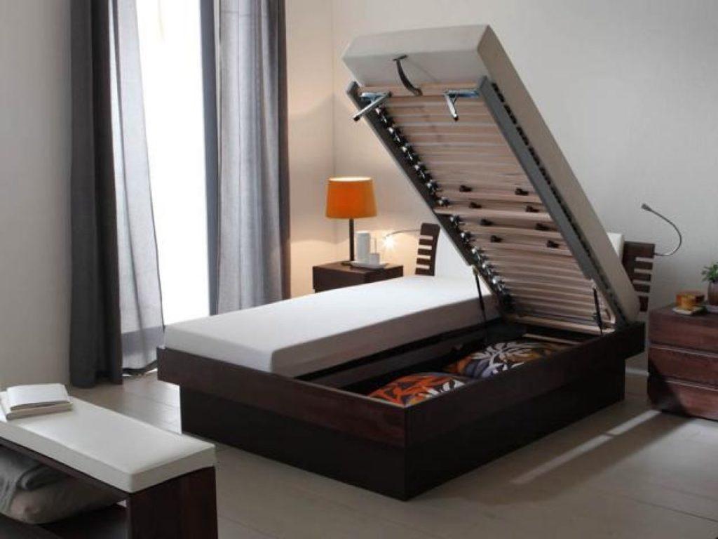 Фото кровати с подъёмным ортопедическим основанием