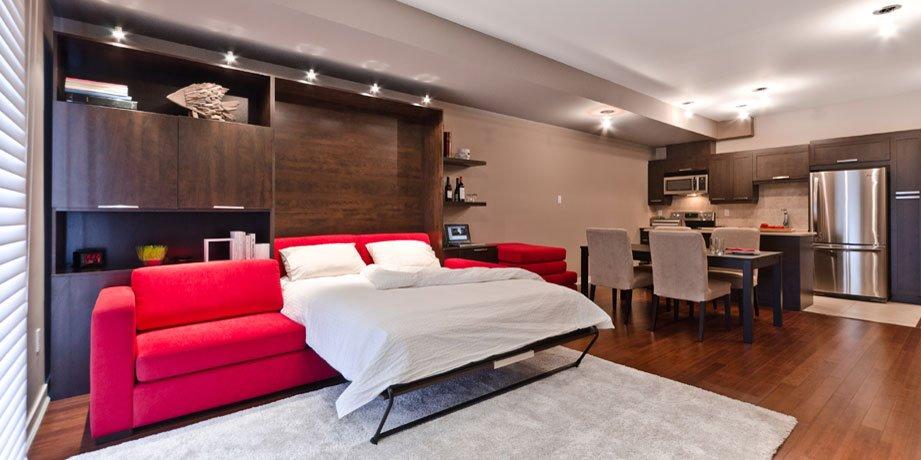 Шкаф-диван-кровать (15)