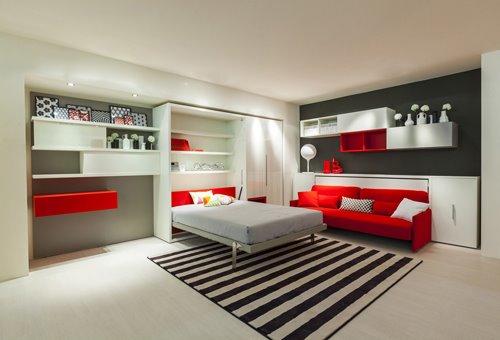 Шкаф-диван-кровать (31)