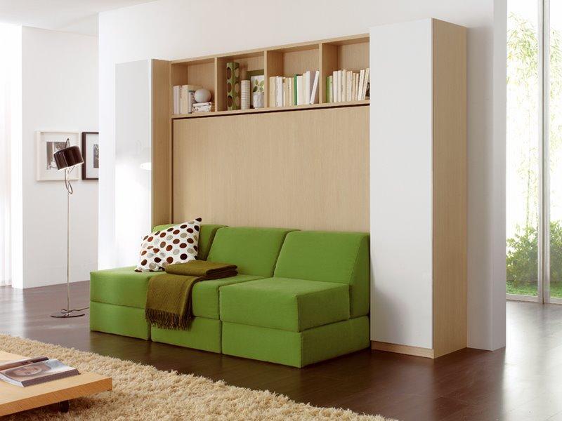 3 в 1: Шкаф диван кровать - виды и устройство