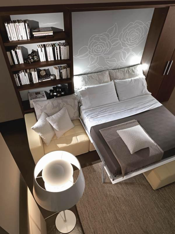 Фото откидной шкаф кровати с диваном